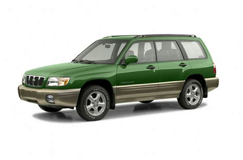 2002 green subaru forester 2002 subaru forester reviews specs and prices cars com