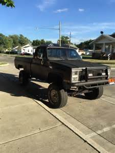 lifted chevy truck 86 k10 silverado for sale photos