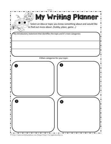Graphic Organizers For Writing Expository Essays by Expository Graphic Organizer Worksheets