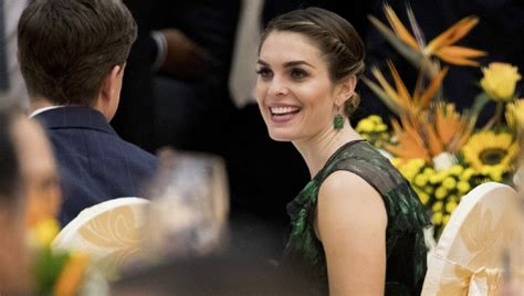 hope hicks family white house communications director hope hicks to leave