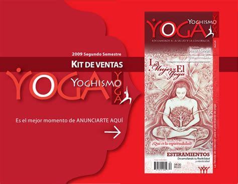 Publicidad Revista Certificaci 243 N | kit de publicidad revista yoga yoghismo 2009