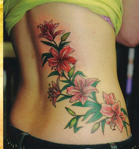flower tattoo girl the cpuchipz tattoo ideas flower tattoos for girls photo