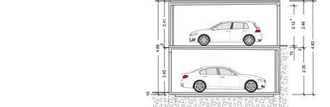garage zeichnung doppelstockgaragen die garagen l 246 sung garagen welt
