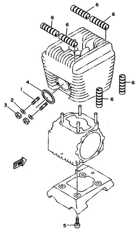 4 yamaha copper exhaust gasket yamaha exhaust parts