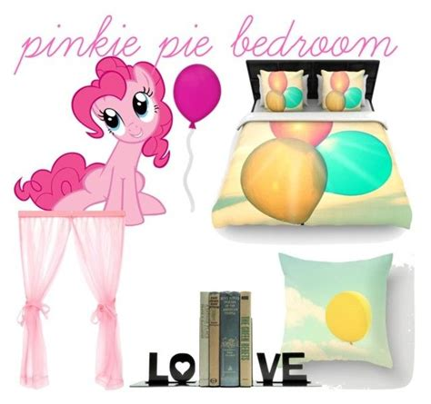 my little pony bedroom quot pinkie pie inspired bedroom quot by disneylover9822 liked on