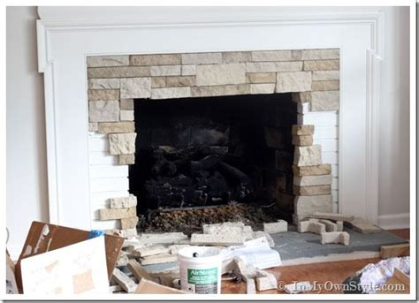 Rock Fireplace Makeover by 25 Best Ideas About Fireplace Makeover On