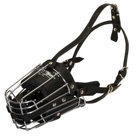 cage for rottweiler fully padded easy adjustable wire cage rottweiler muzzle for working dogs