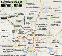 Akron Ohio Map by Judgmental Maps Akron Oh By Mitch D Copr 2014 Mitch D