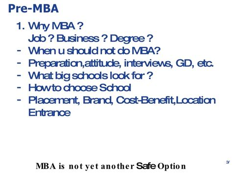 Pre Mba Internship Opportunities by Career Advice For Mba Aspirants
