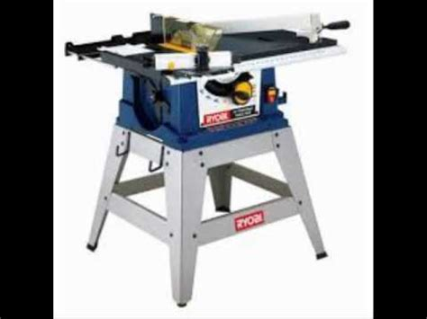 10 portable table saw ryobi 10 in portable table saw with stand youtube