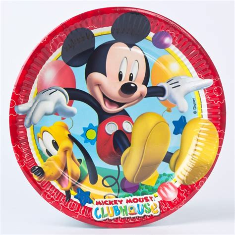 Mickey Mouse Uk 20 15 10 disney mickey mouse clubhouse paper plates pack of 8