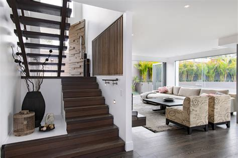 Living Room Coogee by South Coogee House Staircase Sydney