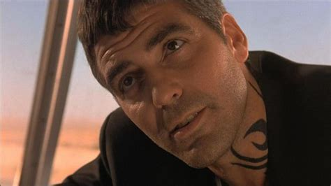george clooney from dusk till dawn tattoo george clooney blamed for worst trend by artist