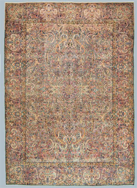 tappeto kirman tappeto kirman antico grande azzurro morandi tappeti