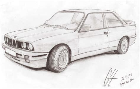 bmw car drawing m3 e30 by ghsr on deviantart