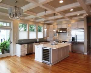 kitchen coffered ceiling my house
