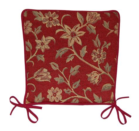 Shaped Rugs Garden Seat Pad Floral Tapestry Design Kitchen Dining