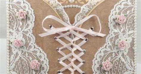 Pin By Tara Bergeron On Diy Crafts - corset card with cutting file and