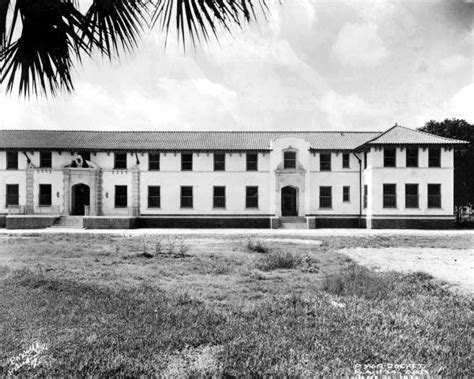 School For The Deaf And Blind St Augustine florida memory view of dormitory for at the florida school for the deaf and blind