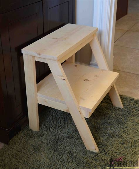 Diy Step Stool by Kid S Step Stool Tool Belt