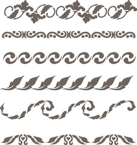 132 best images about Ornament   Border on Pinterest