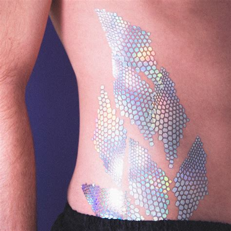 scales holographic tattoonie tattooforaweek com