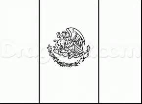 mexican flag coloring page mexican flag coloring page sketch coloring page