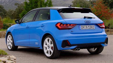 audi  sportback turbo blue driving interior
