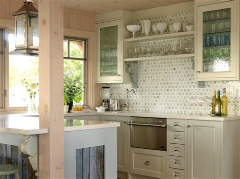 Glass Kitchen Cabinet Doors Pictures Ideas From Hgtv Hgtv Kitchen With Glass Cabinet Doors