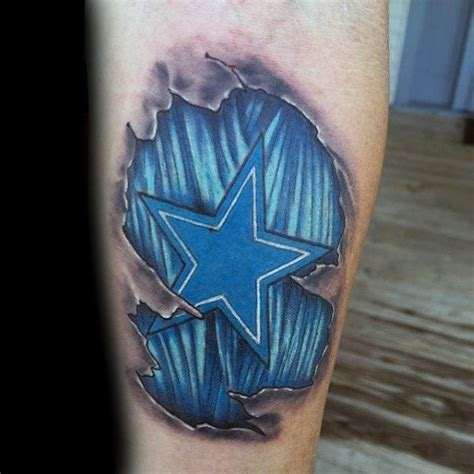 dallas cowboys star tattoo designs 50 dallas cowboys tattoos for manly nfl ink ideas