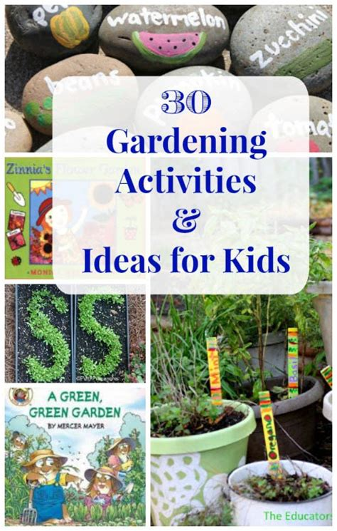 Gardening Lessons Flower Science Projects Parts Of A Flower Pollination