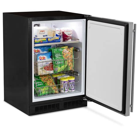 under fridge freezer 24 quot all freezer marvel premium refrigeration