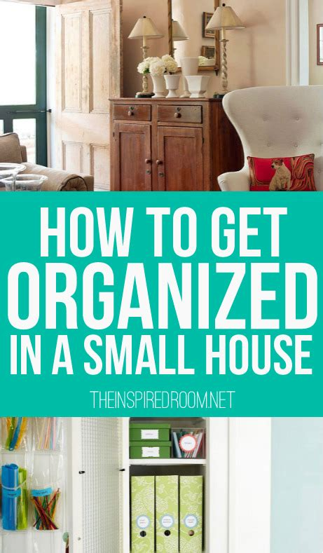 how to organize a house how to get organized in a small house the inspired room