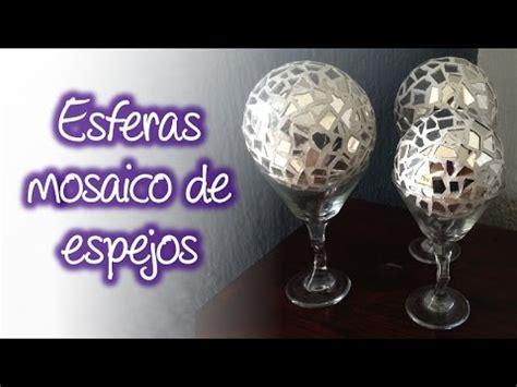 floreros de unicel esferas de espejo tipo mosaico para decoraci 243 n spheres