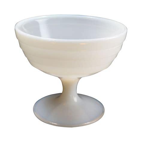 white milk glass l hazel atlas white milk glass moderntone stemmed sherbet