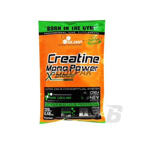 xplode creatine olimp creatine mono power xplode 220g 22 90 pln