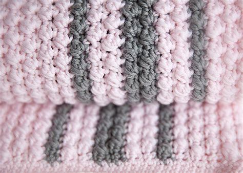 Crochet Baby Blanket Designs by Bobbles And Stripes Crochet Baby Blanket Pattern Leelee