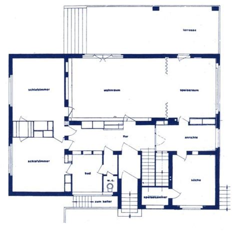 gropius house floor plan family houses digital textbook library