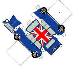 Mini Cooper Papercraft 1000 Images About Paper On