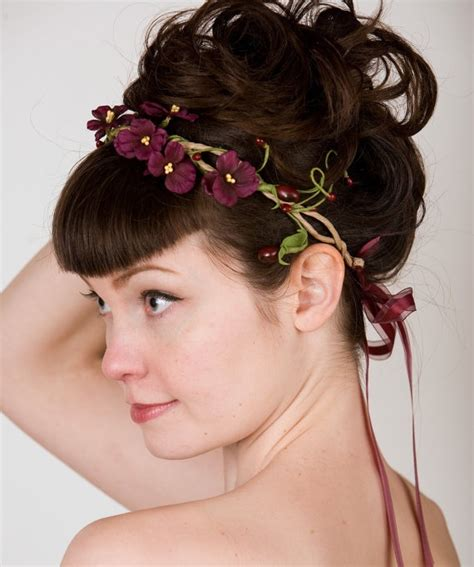Flower Hairband diy headbands to make for inspired by flowers aelida