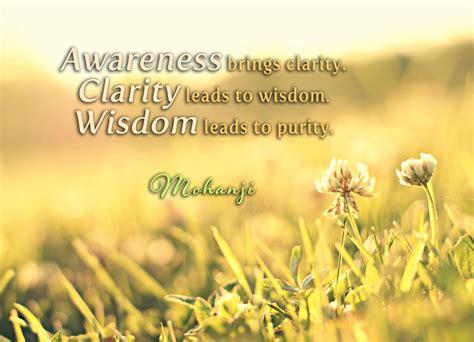 awareness quotes mohanji quotes awareness brings clarity thus spake mohanji