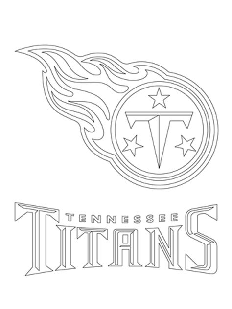 nfl titans coloring pages tennessee titans logo coloring page free printable