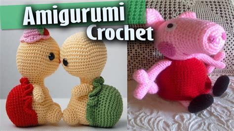 imagenes de cuellos a crochet imagui amigurumi tejidos a crochet dise 241 os peppa pig minions