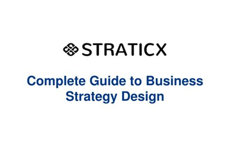 layout strategy slideshare complete guide to business strategy design