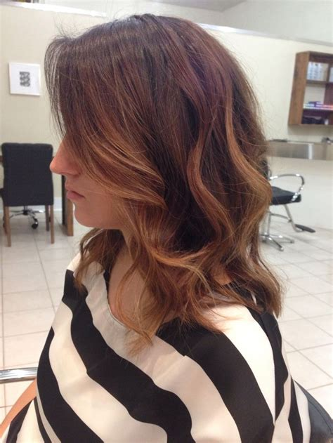 pictures of diangle bob with ombre color ombre long bob hair makeup pinterest bobs