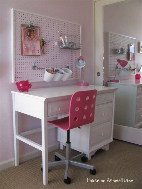 bedroom organization pinterest cute and functional pegboard organization in this kid s