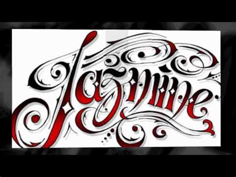 tattoo fonts designs youtube
