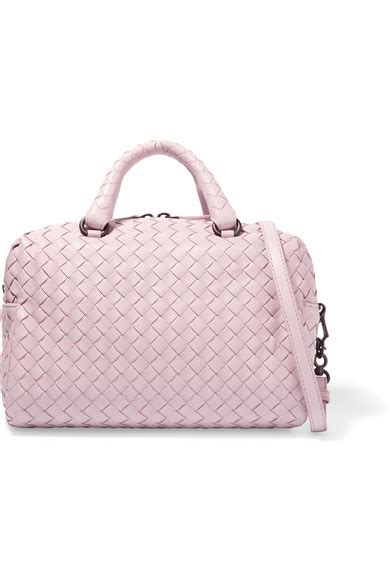 Bottega Veneta Mini Boston Bag by Bottega Veneta Boston Mini Intrecciato Leather Tote