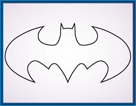 imagenes para dibujar faciles en color dibujos faciles de batman para imprimir y colorear