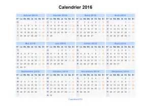 Calendrier Imprimable Calendrier 2016 224 Imprimer Gratuit En Pdf Et Excel
